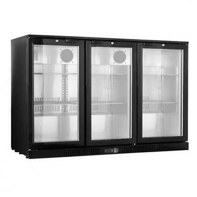 Bar Fridge, Three Glass Door, Under Bench, Commercial Equipment, Drink Cooler