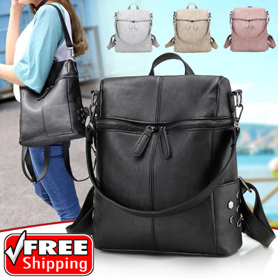Backpack Women Travel Bag School Rucksack Shoulder Satchel Girl Handbag Purse