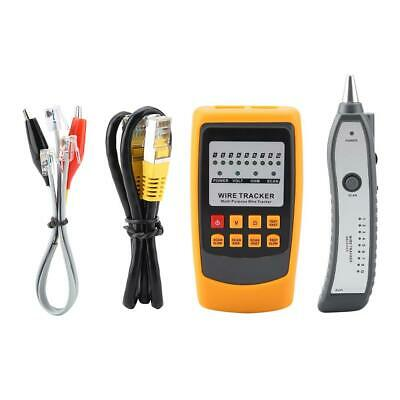 GM60 Telephone Network Wire Tracker LAN Cable Tester Detector Line Finder