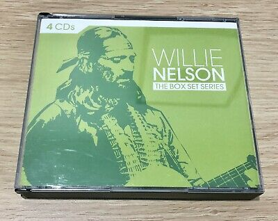 WILLIE NELSON*The Box Set Series*4 X CD*FATBOX*Exc. Cond