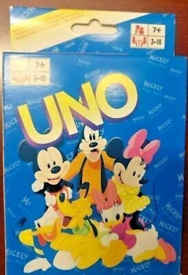 Mickey UNO Playing Cards Game for Travel Family Friends AU