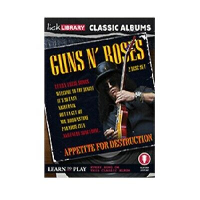 Lick Library Classic Albums Guns N Roses Appetite RDR0510