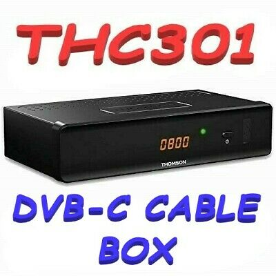 Thomson THC301 HD Cable Receiver - DVB-C - Freeview Cable Channels - Timeshift
