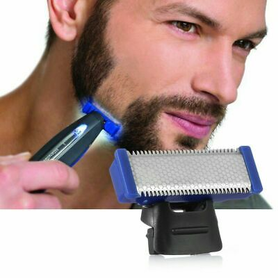 Micro Touch SOLO Rechargeable Trimmer Razor Shaver For Man + Edges Gift Kit