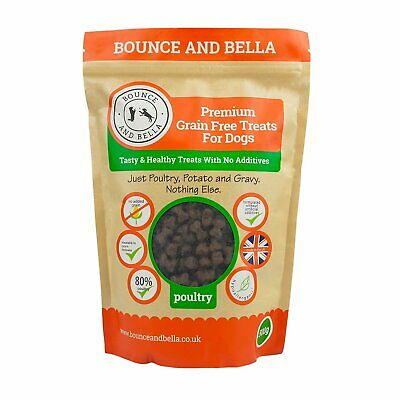 Bounce and Bella Grain Free Hypoallergenic Poultry Training Treats for Dogs 500g