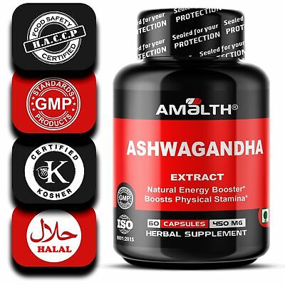 Ashwagandha Root Extract Powder 5% Withnolides - Boosts Libido in Men