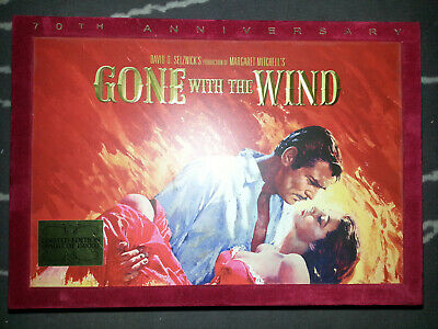 Gone With the Wind 70th Anniversary Ultimate Collector's Edition Blu-Ray DVD Set