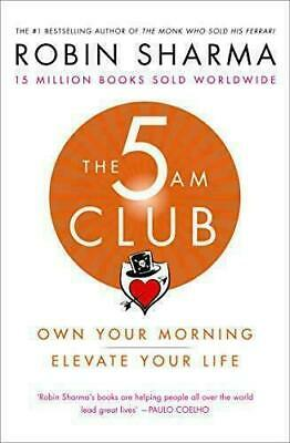 The 5AM Club By Robin Sharma Own Your Morning. Elevate Your Life. - Audiobook