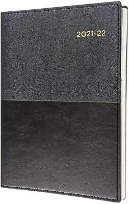 Collins Vanessa 2020 - 2021 Financial Year Diary A4 Week to View Black FY345