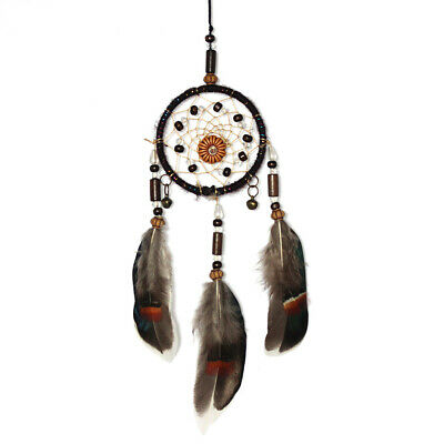 Native American Handmade Boho DreamCatcher Feathers Car Home Wall Hanging Craft
