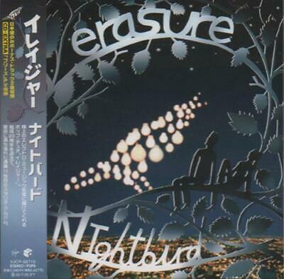 Erasure Nightbird CD album (CDLP) Japanese promo VJCP-68719 VIRGIN 2005