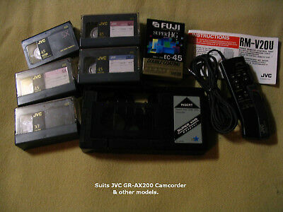 JVC GR-AX200 Camcorder accessories.