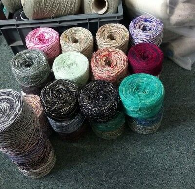 1kg Mixed Yarn Crochet Knitting joblot clearout Twisted Thread  1000g *SALE*