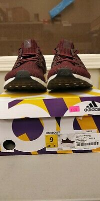 the best attitude 6d741 2d953 MEN'S ADIDAS ULTRA Boost 4.0 Night Red/ Noble Maroon- CM8115 SIZE 9 USED