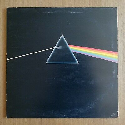 *  PINK FLOYD - DARK SIDE OF THE MOON - Orig 1973 UK LP - A-3 / B-2 *
