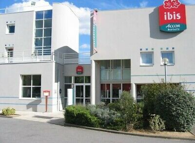 Ibis Hotel Nantes Saint Herblain,1 Night Stay,Double Room Thurs 29th August 2019