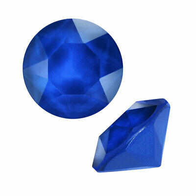 Swarovski Crystal, #1088 Xirius Round Stone Chatons ss29, 12 Pieces, Royal Blue