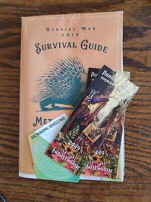 Burning man Metamorphoses 2019 2 tickets + parking pass