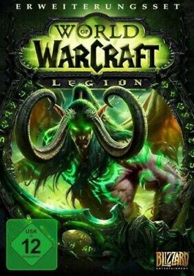 WOW World of Warcraft Legion Expansion Set Standard Edition for PC DVD / Mac