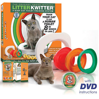 Litter Kwitter Cat Toilet Training System - Free Shipping!