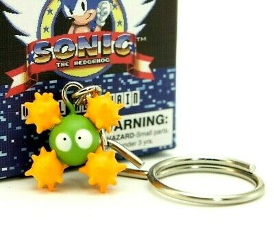 Kidrobot Sonic The Hedgehog Vinyl Key Chain Mini Figure Eggmobile Express Zaim Kz