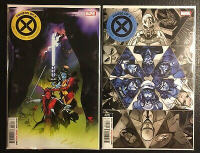 House Of X #1-2 + Powers of X #1-3 + House of X Mark Brooks Variant NM/NM+ Set