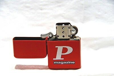 "Briquet rouge ""P Magazine"""