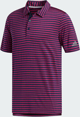 Adidas Ultimate365 Two-Color Stripe Polo - Choose Size and Color