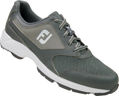 Footjoy Athletics Spikeless Golf Shoes Grey - Choose Size & Width
