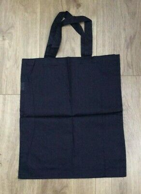 Eduplay 100% Cotton Bag / Navy One Size 35 x 39 cm Brand New Free P&P UK Seller