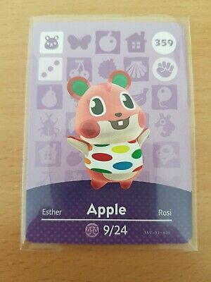animal crossing new leaf welcome  amiibo card  apple 359