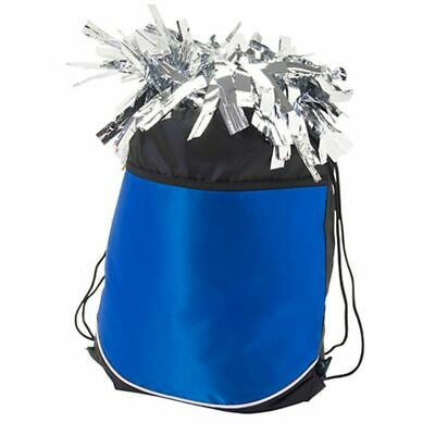 Pizzazz Girls Royal Blue Stringpack Pom Cheer Dance Backpack Bag