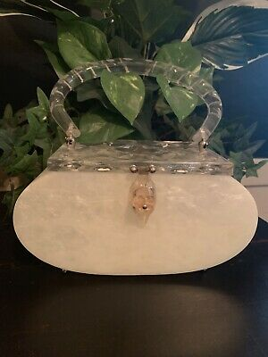 Vintage Lucite/Bakelite Pocketbook/ Purse Circa 1950's
