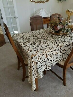 Vintage Madeira Table Cloth & Napkins
