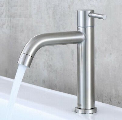 Cold Water Single Lever Bathroom Sink Faucet Basin Tap Accessory Kitchen Faucet