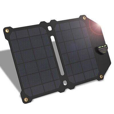 ALLPOWERS 14W Solar Charger 5V 2.4A Dual Usb Solar Panel Power Charger Fold F9R3