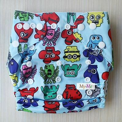 Baby Boy Girl Super soft  Washable Reusable Pocket Best Nappy diaper cover H05