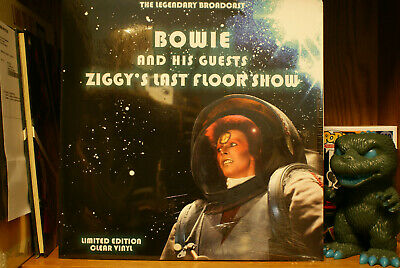 David Bowie And His Guests Ziggy's Last Floor Show limited clear vinyl lp