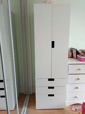 Ikea Stuva Children S Wardrobe Sold With Rail Basket Drawer Shelves Drawers