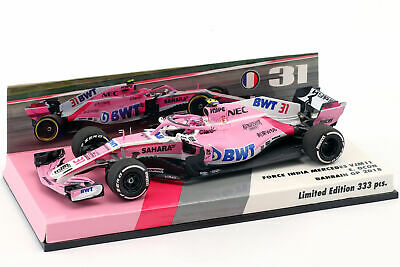 Esteban Ocon Force India VJM11 #31 Bahrain GP Formel 1 2018 1:43 Minichamps
