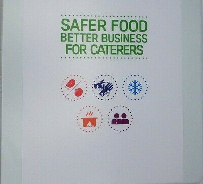Safer Food Better Business Caterers Pack 2019 + 13 Month Diary - Fully Pack