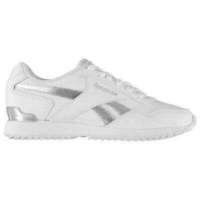 REEBOK CLASSIC RIPPLE Clip Mens White Leather Low Top