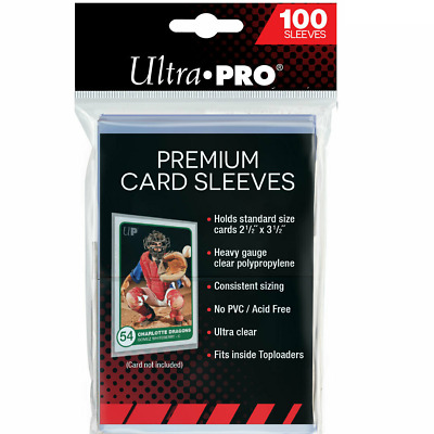 100 x Ultra Pro Premium Platinum Card Protector Sleeves for MTG Yugioh Pokemon