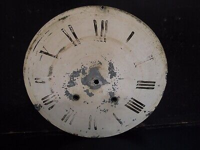 Antique Wall Clock Dial Only 31Cm Diameter 2 Winding Holes