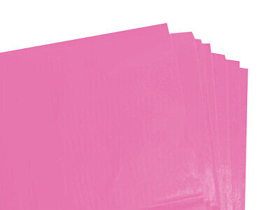 250 X SHEETS OFCERISE  COLOURED ACID FREE TISSUE PAPER 375mm x 500mm/QUALITY