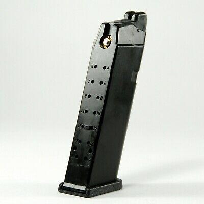 WE 24rds G17, G18, G19 Green Gas Airsoft Magazine for WE & Marui GBB