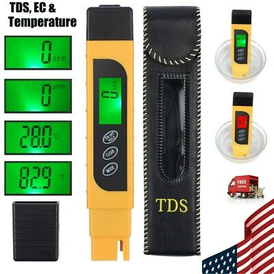 3 in 1 Intelligent Backlight Water Quality Testing Device Detection Pen