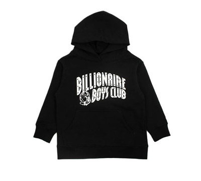 Billionaire Boys Club BB Kids Arch Hoodie in Black 891-2303 Free Shipping
