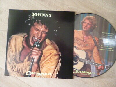 Johnny  HALLYDAY  NEW  Picture  Olympia  73  Volume 1