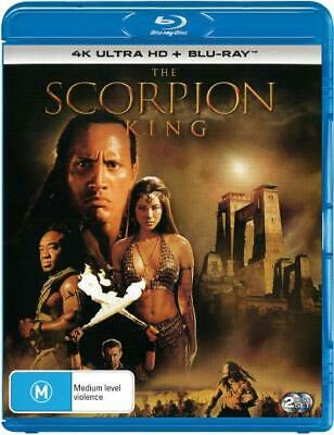 The Scorpion King (4K Uhd/Blu-Ray) (2002) [New Bluray]
